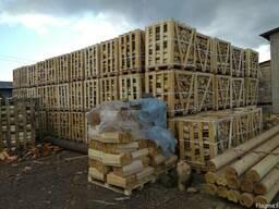 Дрова колотые в Израиль Хайфа экспорт из Украины контейнером - фото 4