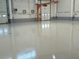 Эпоксидные наливные полы Helltech floor 3025 self levelling - фото 3