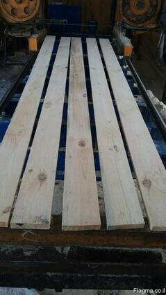 Pine lumber, construction timber