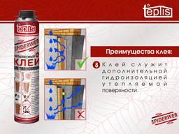 Строительный клей теплоизоляции Teplis Spiderweb /1000 мл - фото 6