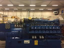 Б/У газовый двигатель MWM TBG 620, 1995 г. ,1 052 Квт. - фото 2