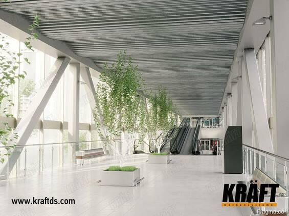 Дизайнерские подвесные потолки KRAFT от производителя