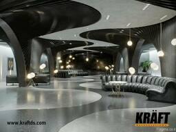 Дизайнерские подвесные потолки KRAFT от производителя - фото 8