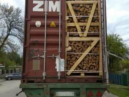 Дрова дубовые в Израиль поставки из Украины контейнерами - фото 3