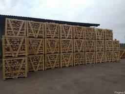 Дрова дубовые в Израиль поставки из Украины контейнерами - фото 4