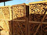 Дрова колотые в ящиках - фото 3