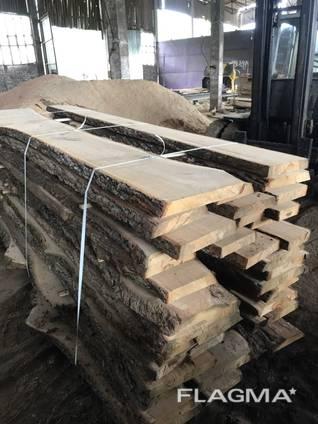 Fresh Unedged Oak Boards (Different Sizes)