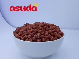 Кукурузные шарики с вкусом какао