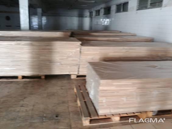 Мебельные щиты из дуба цельные и клееные