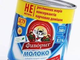 "Молоко сгущенное ""Фаворит""/Condensed milk with sugar 8.5%"