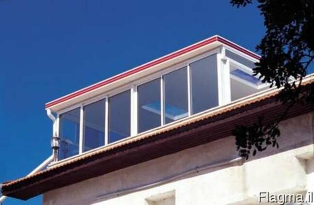 Окна трисы Перголы и навесы