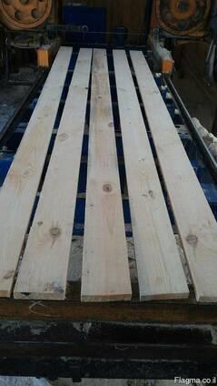 Pine lumber, construction timber