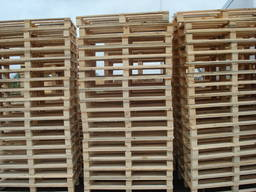 We produce wooden pallets
